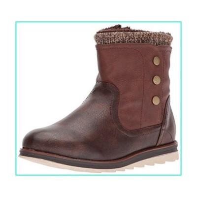 【新品】MUK LUKS Women's Hope Boots - Dark Brown(並行輸入品)
