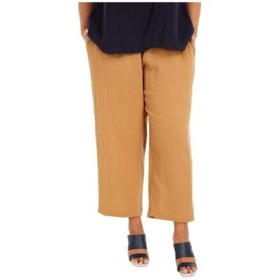 エイリーンフィッシャー レディース カジュアルパンツ ボトムス Plus Size Straight Leg Pants