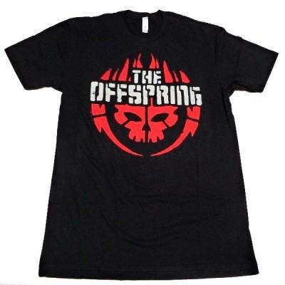 OFFSPRING オフスプリング SKULL LOGO オフィシャル バンドTシャツ / 2枚までメール便対応可