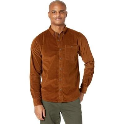 トードアンドコー Toad&Co メンズ トップス Cruiser Cord Long Sleeve Shirt Brown Sugar