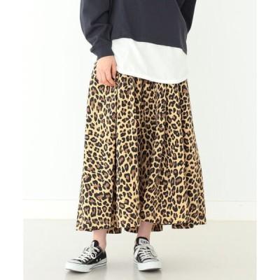 スカート GRAMICCI × BEAMS BOY / 別注 プールナイロン ロング スカート