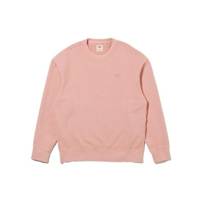 【リーバイス】 AUTHENTIC LOGO CREWNECK FARALLON メンズ YELLOWS/ORANGES XL- Levi's