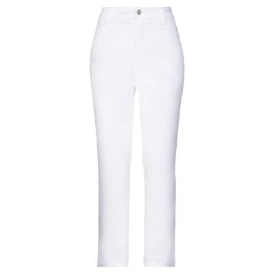 マニラ グレース MANILA GRACE パンツ ホワイト 38 コットン 97% / ポリウレタン 3% パンツ