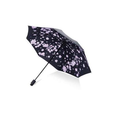 クリエイティブな星空の花びらの男性女性小さな太陽の雨傘UV保護防風折りたたみコンパクト屋外旅行傘-写真と