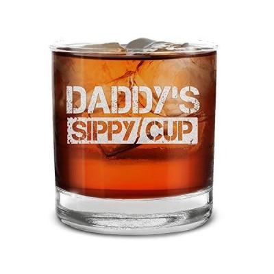 送料無料!Shop4ever Daddy's Sippy Cup 刻印入り ウイスキーグラス