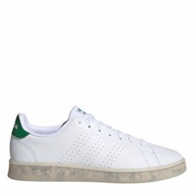 アディダス adidas メンズ スニーカー シューズ・靴 Adidas Advantage Eco Trainers White/Wht/Green