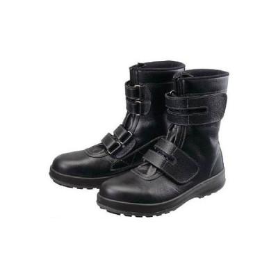 あすつく対応 「直送」 シモン[WS3826.5] 安全靴 長編上靴 マジック WS38黒 26.5cm ポイント5倍