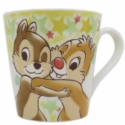 ◆チップ/デール 陶器製 マグ/ハピネス(ディズニーマグカップ おしゃれ コップ マグ 食器(338)