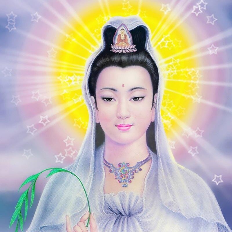 佛畫 送子觀音畫像佛像供奉家用鎮宅掛像圖南海觀世音圖像菩薩卷軸掛畫『XY18857』