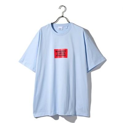 BURBERRY バーバリー Tシャツ 半袖 ブランドボックスロゴ wby001 8014823 A1397 LIGHTBLUE ライトブルー