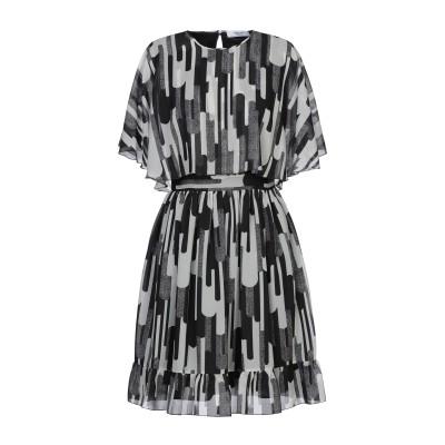 ブルーガール ブルマリン BLUGIRL BLUMARINE ミニワンピース&ドレス ブラック 38 ポリエステル 100% ミニワンピース&ドレス