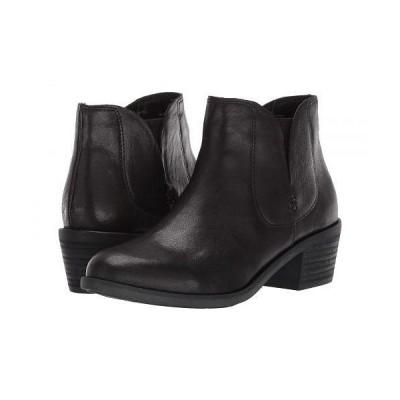 Me Too ミートゥー レディース 女性用 シューズ 靴 ブーツ アンクル ショートブーツ Zetti - Black Leather