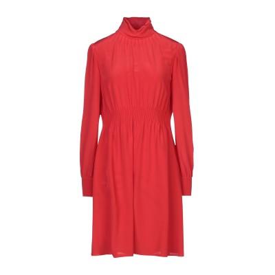 ヴァレンティノ VALENTINO ミニワンピース&ドレス レッド 46 シルク 100% ミニワンピース&ドレス