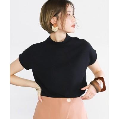 tシャツ Tシャツ 2020 S/S プチハイネックカットソー/フレンチスリーブベーシックトップス