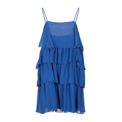 VICOLO ミニワンピース&ドレス ブルー M ポリエステル 100% ミニワンピース&ドレス