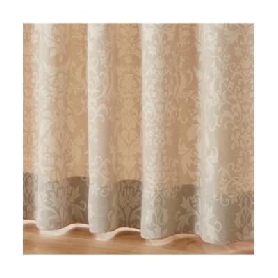 【1cm単位オーダー】クラシカルオーナメント柄カーテン(1枚) ドレープカーテン(遮光あり・なし) Curtains, blackout curtains, thermal curtains, Drape(ニッセン、nissen)