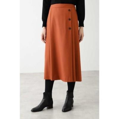 HUMAN WOMAN / ヒューマンウーマン ◆ウールサキソニーストレッチスカート