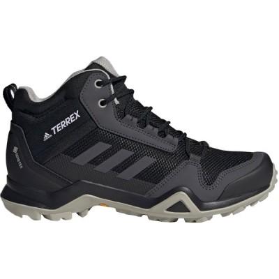 アディダス テレックスAX3ミッドゴアテックス ハイキング adidas W TERREXAX3MIDGORETEX HIKING ブラック/ダークグレー/グレー EF3365 アディダスジャパン正規品