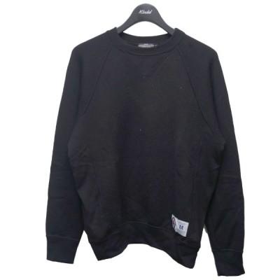 AFFA アンゴラ混スウェット ブラック サイズ:M (新宿店) 210318