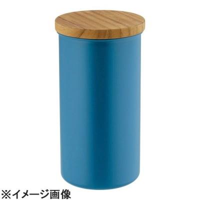 高桑金属 ステンレスコーヒーキャニスター Lブルー (FKK0404)