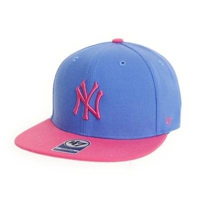 フォーティーセブン ブランド帽子Yankees Sure Shot Kids B-SRSTT17WBP-BZブルー