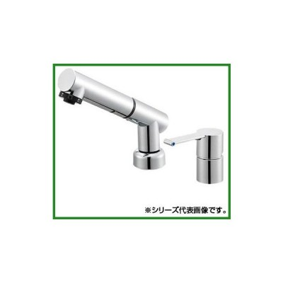 送料無料 三栄 SANEI column シングルスプレー混合栓(洗髪用) K37510JVZ-13|b03