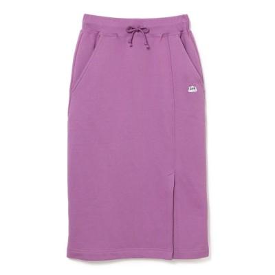 【ビス/ViS】 【Lee×ViS】裏毛ロングスカート