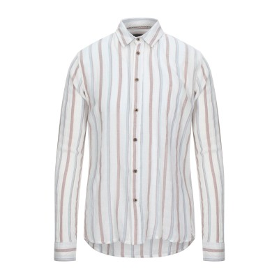 ANERKJENDT シャツ ホワイト L コットン 100% シャツ