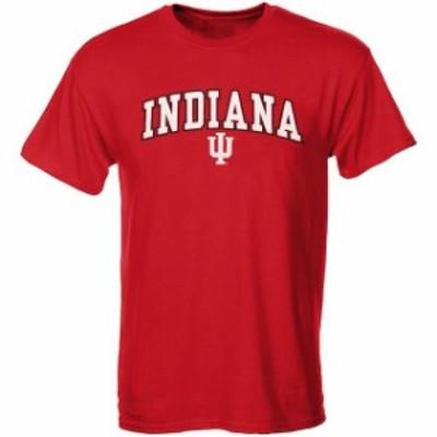 New Agenda ニュー アジェンダ スポーツ用品  Indiana Hoosiers Youth Crimson Midsize T-Shirt