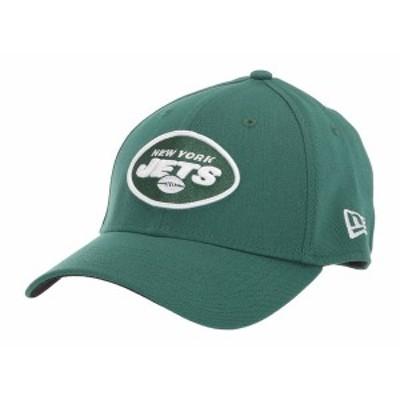 ニューエラ メンズ 帽子 アクセサリー NFL Team Classic 39THIRTY Flex Fit Cap - New York Jets Green