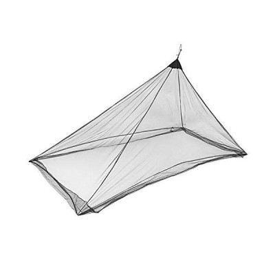 Outdoor Camping Tent Canopy, Outdoor Camping Mosquito Net, Portable Canopy Lightweight Mesh Tent, Travel Sleeping Bag Netting Cover(Black)
