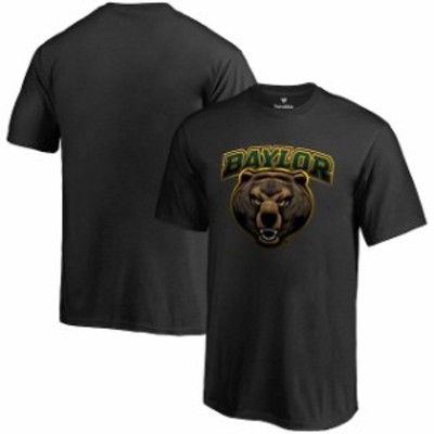Fanatics Branded ファナティクス ブランド スポーツ用品  Baylor Bears Black Midnight Mascot T-Shirt