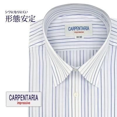 ワイシャツ メンズ 長袖 形態安定 形状記憶 標準型 CARPENTARIA レギュラーカラー DAPC15-05