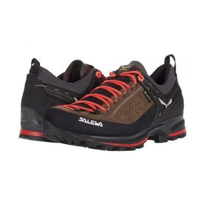 Salewa サレワ レディース 女性用 シューズ 靴 ブーツ ハイキング トレッキング Mountain Trainer 2 GTX - Driftwood/Fluo Coral