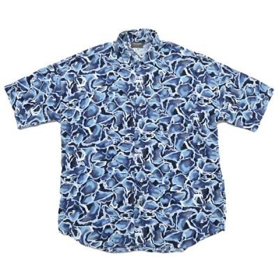 TRIUMPH 総柄 半袖シャツ サイズ表記:L