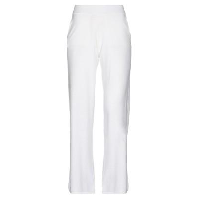 パロッシュ P.A.R.O.S.H. パンツ ホワイト XS コットン 85% / カシミヤ 15% パンツ
