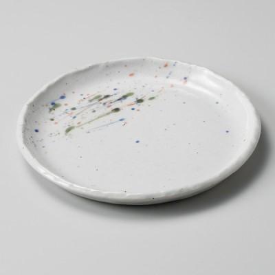 業務用食器 はるかぜ 6寸丸皿 φ18.4×2.2�