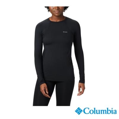 Columbia 哥倫比亞 女款- Omni HEAT 鋁點保暖快排內著上衣-黑色 UAL67630BK