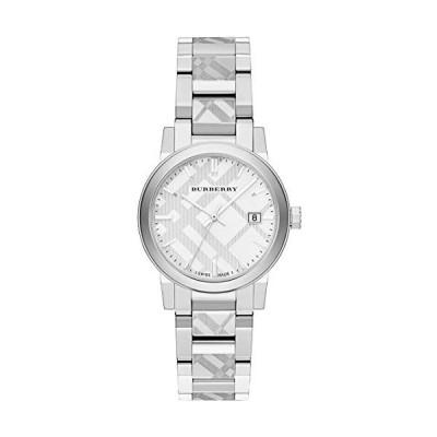 Swiss Rare Engraved Silver Date Dial 34mm Women Stainless Steel Wrist Watch The City BU9144 並行輸入品