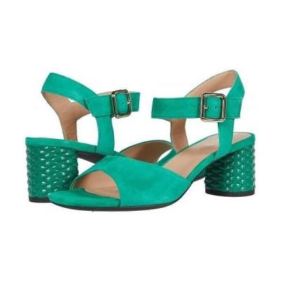 Geox ジオックス レディース 女性用 シューズ 靴 ヒール Ortensia Mid and 1 - Green