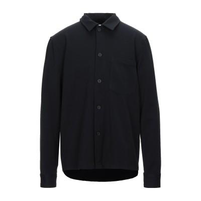 ELVINE シャツ ダークブルー M コットン 98% / ポリウレタン 2% シャツ