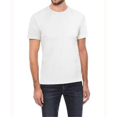 エックスレイ Tシャツ トップス メンズ Men's Big and Tall Basic Crew Neck Short Sleeve T-shirt White