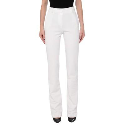 ANNA RACHELE パンツ ホワイト 40 レーヨン 69% / ナイロン 26% / ポリウレタン 5% パンツ