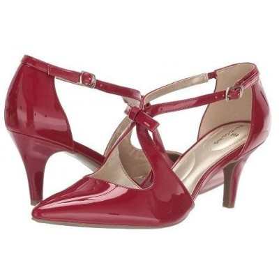 Bandolino バンドーリノ レディース 女性用 シューズ 靴 ヒール Zeffer Pump - Rossy Red Patent