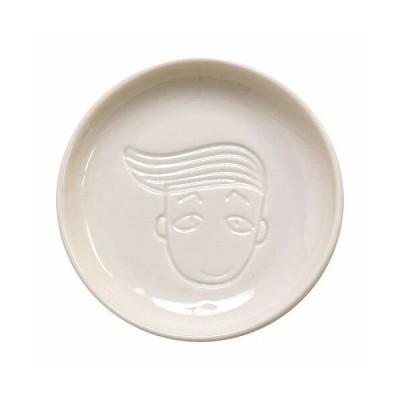 小倉陶器 小皿 ちびまる子ちゃん 絵が浮き出るしょうゆ皿 花輪クン 直径8.8cm CM-604