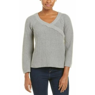 ファッション トップス Lunik Wrap-Look Sweater
