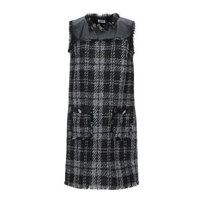リュー ジョー LIU •JO ミニワンピース&ドレス ブラック 38 ポリエステル 86% / コットン 9% / レーヨン 3% / ナイロン