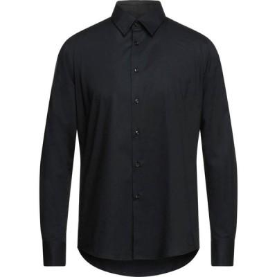 ヨーン YOON メンズ シャツ トップス solid color shirt Black