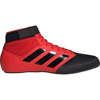 アディダス adidas メンズ レスリング シューズ・靴 Mat Hog 2.0 Wrestling Shoes Red/Black