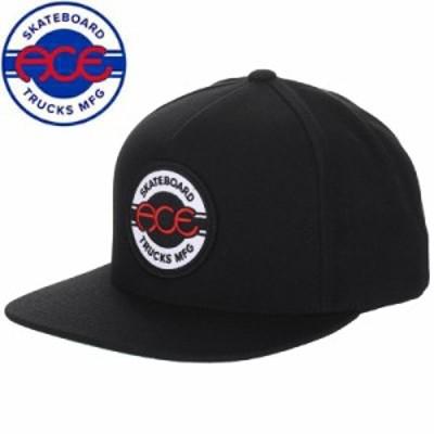 ACE TRUCK エース スケボー キャップ SEAL 5 PANEL SNAPBACK HAT ブラック NO1